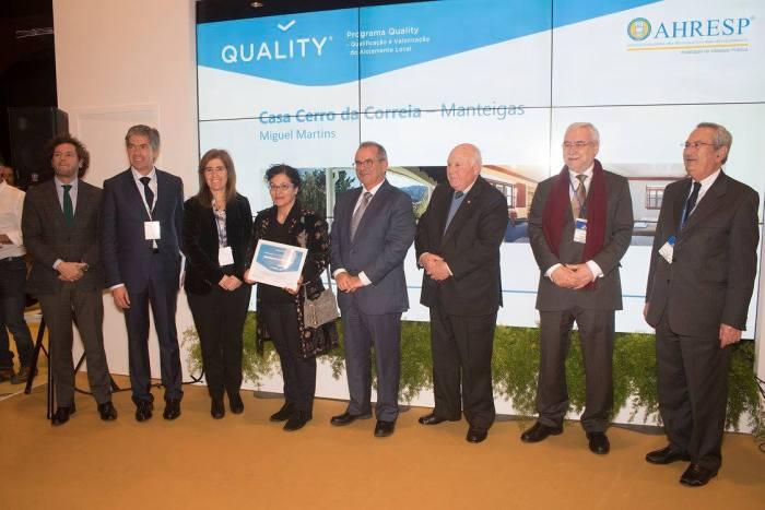 A Casa Cerro da Correia recebeu a certificação Quality na BTL 2018.