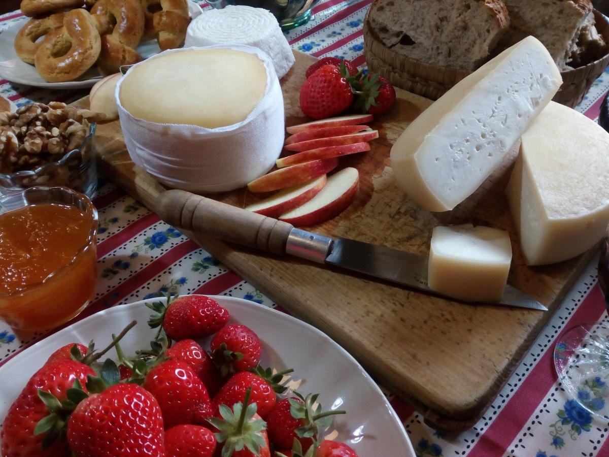 02. Prova de queijos da Serra da Estrela / Serra da Estrela cheese tasting